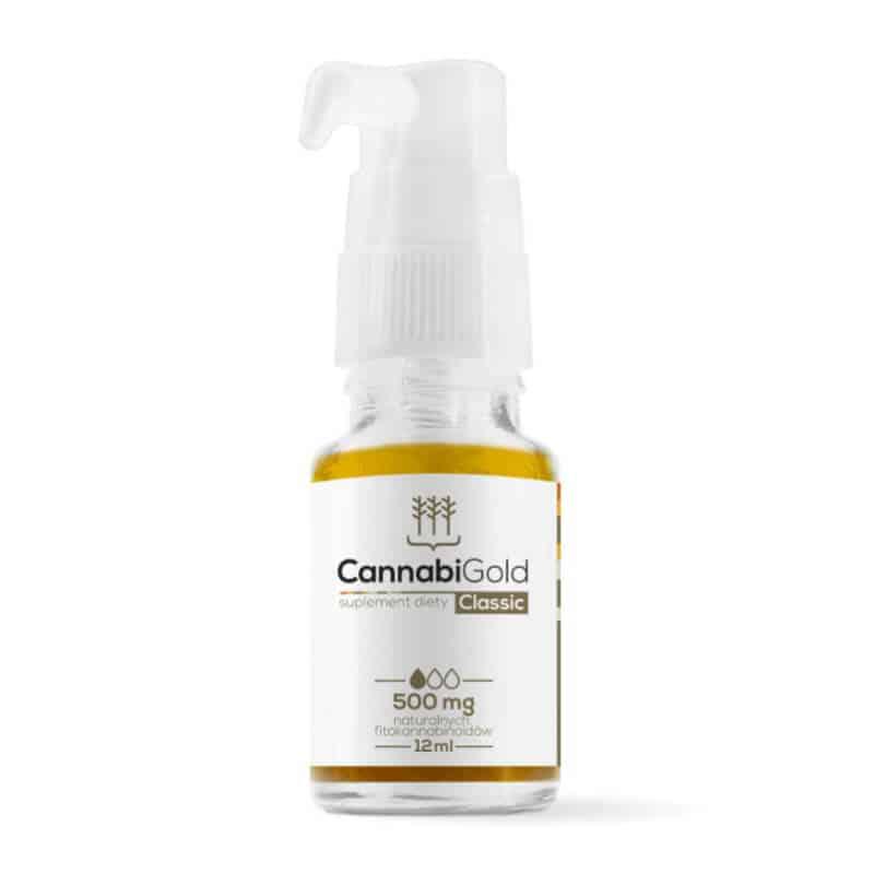huile CBD cannabigold 500mg