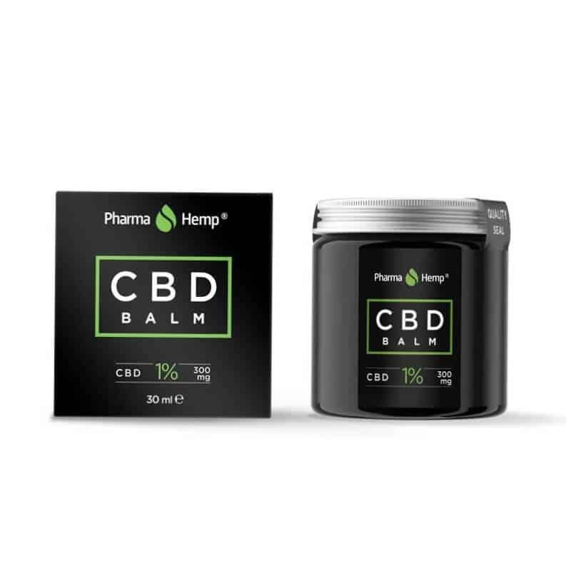 Baume CBD PharmaHemp 3% boite