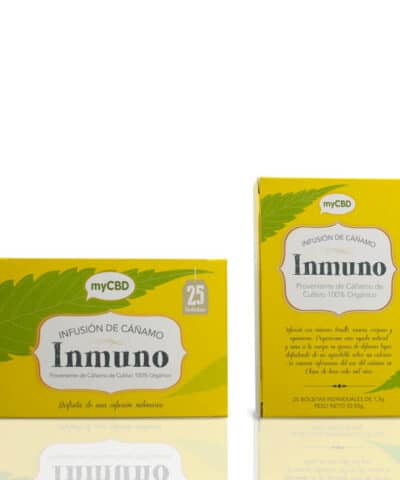 Tisane CBD Inmuno infusion boite
