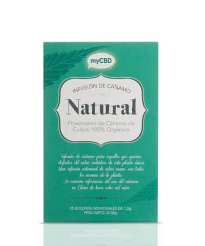Infusion tisane CBD Natural Greenlabs MyCBD