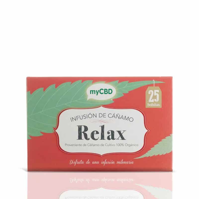 Infusion tisane CBD Relax Greenlabs MyCBD
