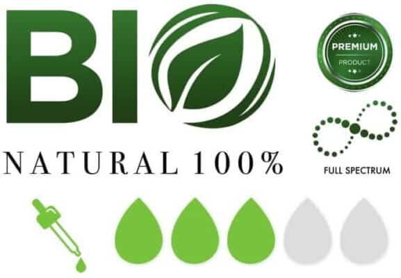 huile CBD enecta 10% icones