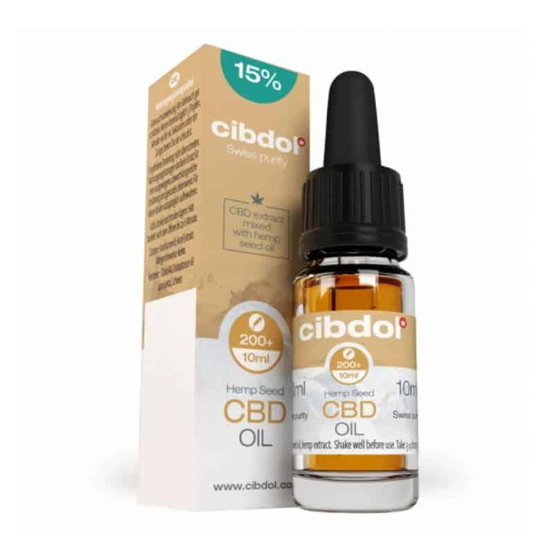Huile CBD Cibdol Hemp Seeds 15% boite
