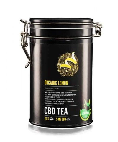 Thé CBD organic lemon
