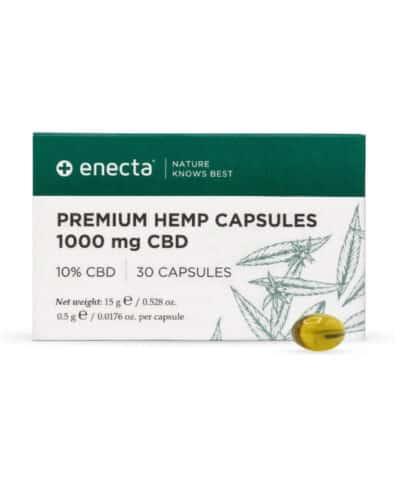 capsules CBD Enecta