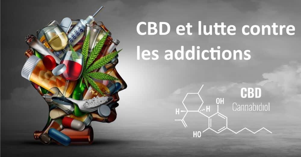 CBD et addictions tabac alcool drogues