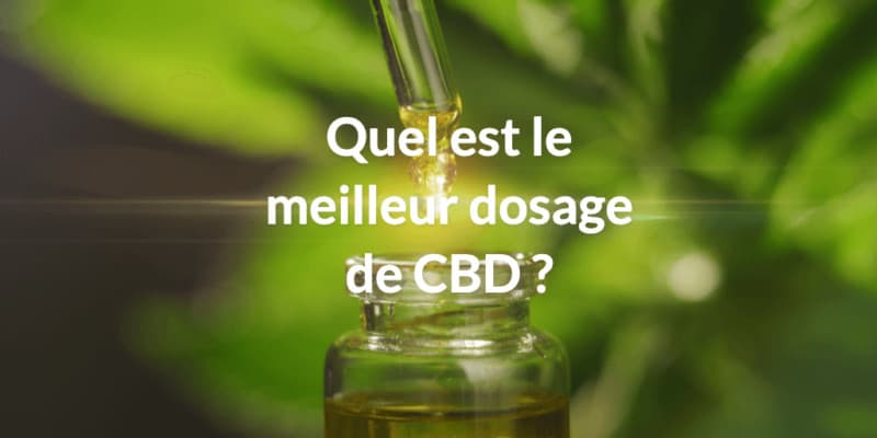 quelle est le meilleur dosage cbd