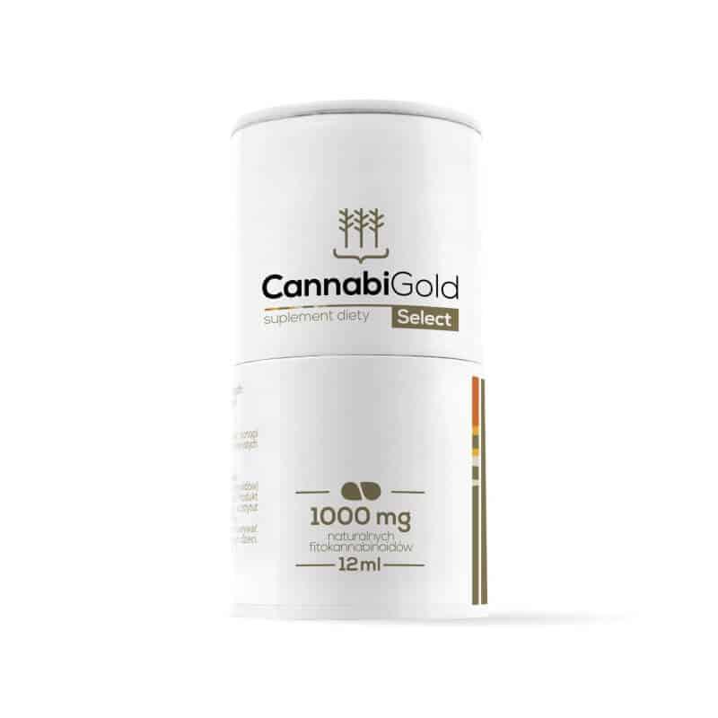 Boite huile CBD Select Cannabigold