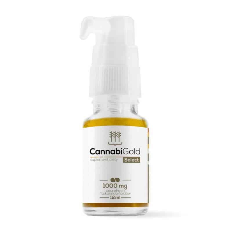 huile CBD Select Cannabigold